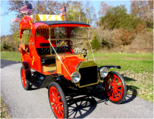 Model T Ford Calliope Car photo front view