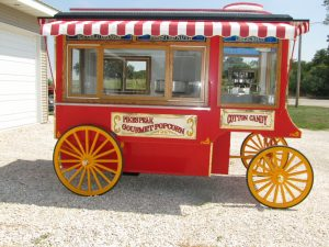 Antique Style Popcorn Wagon small