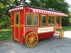 Popcorn Wagon rear quartering photo